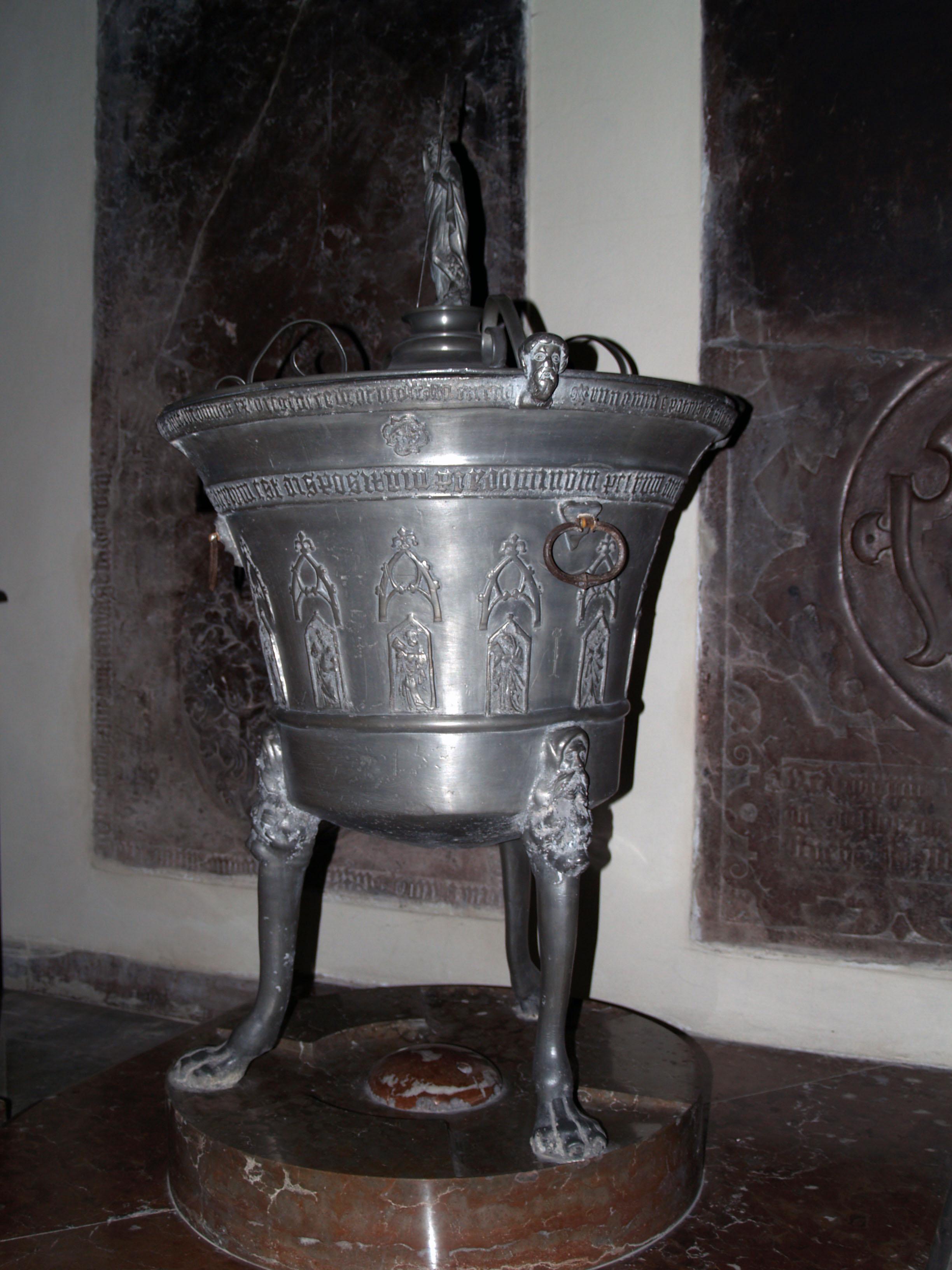 Křtitelnice sv.Štěpán